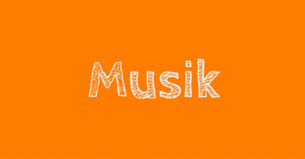 button musik